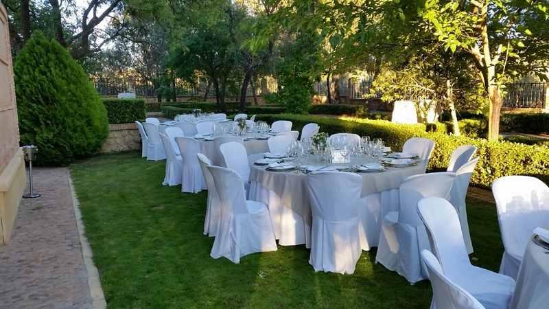 fincas y catering para bodas en Hécate novias.