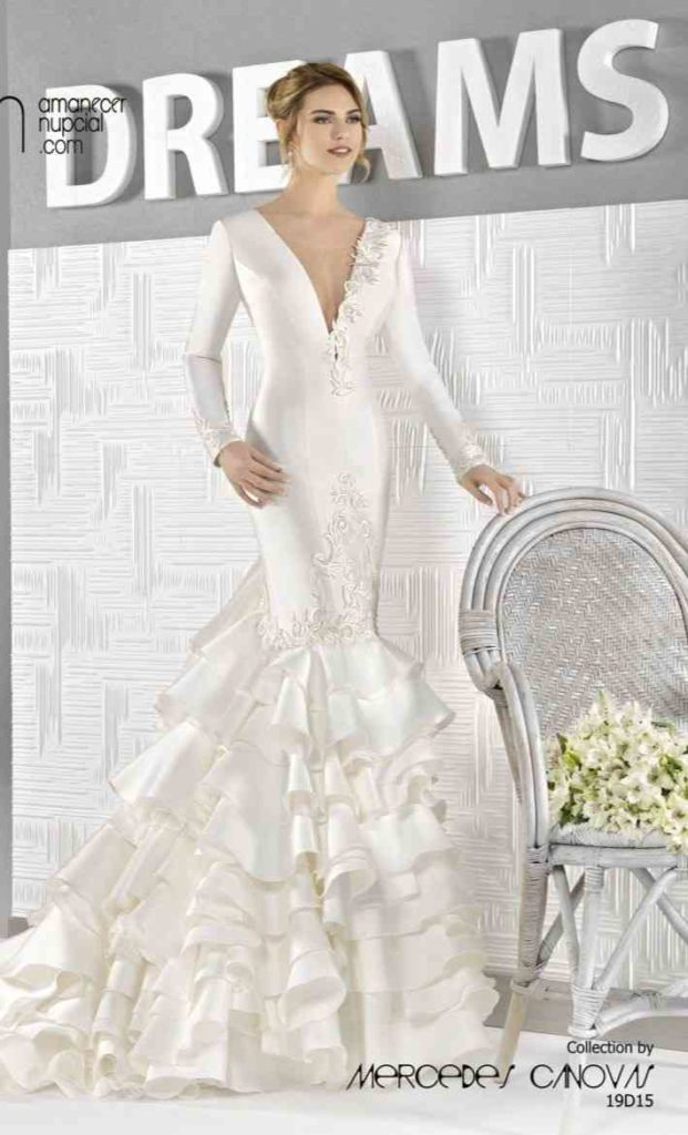 Colección vestidos de novia 2019 en Ciudad Real. Amanecer nupcial